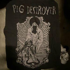 Pig Destroyer show T